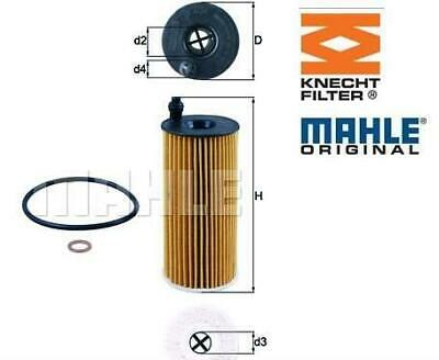 OX 404D -MAHLE/KNECHT  Oil Filter