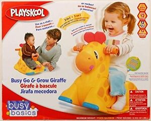 Used Hasbro Playskool Let's Play Together Go & Grow Giraffe