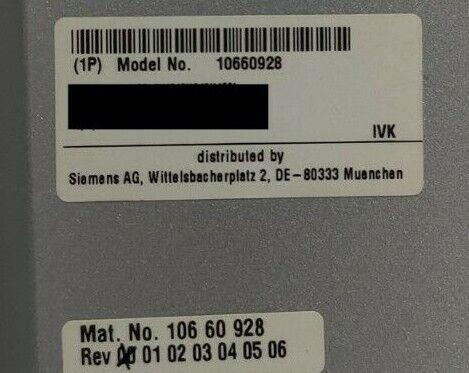 Siemens Host Computer Z400 10660928