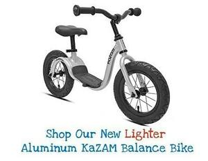 KAZAM KIDS BALANCE BICYCLES