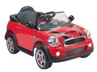Mini Cooper ride on with Remote control