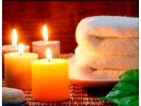 Enjoy a full body massage today !