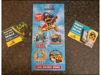 x2 LEGOLAND WINDSOR TICKETS 8th Oct