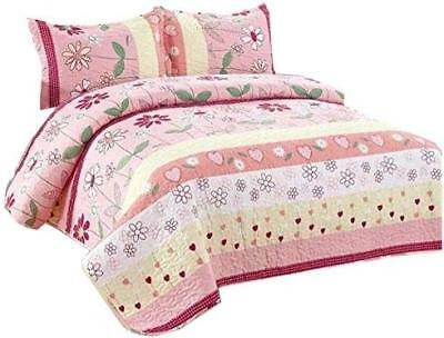 Golden Linens Full Size Kids Bedspread Quilts Throw Blanket