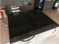 Siemens iQ700 Induction Hob black glass with stainless steel trim