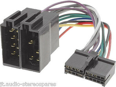 Sonichi Sb50-Dab Power Loom 20 pin wiring harness lead iso Connector
