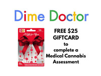 $25 commission per Medical Cannabis Assessment
