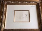 Framed Renoir Print