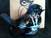 Glass Bird Figurine