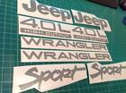 Jeep Wrangler YJ Decals