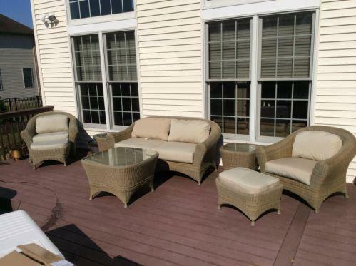 Used Outdoor Patio Furniture Ebay