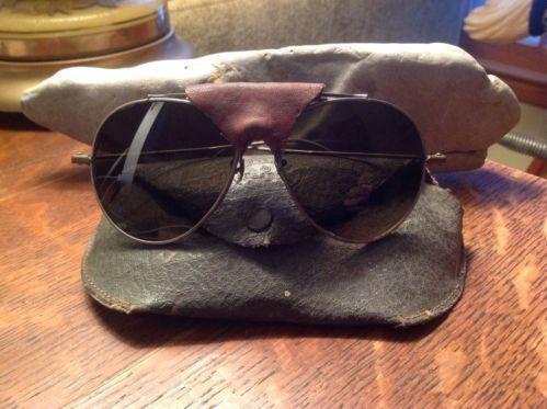 7048553fb6 WWII Aviator Sunglasses