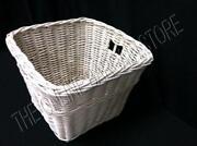 Pottery Barn White Basket