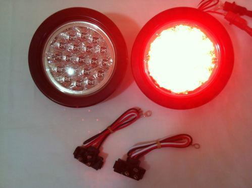Round Led Tail Lights Ebay