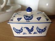 Emma Bridgewater Blue Hen