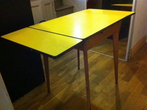 50s formica table ebay for Table formica
