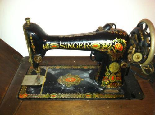 Antique Sewing Cabinet EBay Custom 1910 Singer Sewing Machine Worth