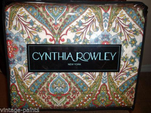 Cynthia Rowley Bedding Floral Ebay