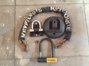kryptonite bike lock ebay. Black Bedroom Furniture Sets. Home Design Ideas