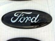 Black Ford Edge Emblem