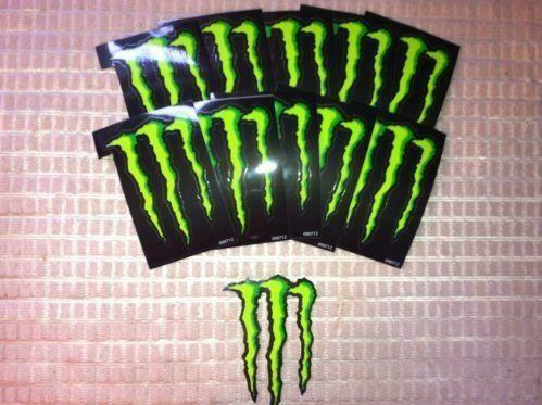 Monster Energy Decals Ebay