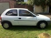 Vauxhall Corsa 1.2 White