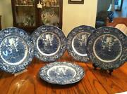 Staffordshire Liberty Blue Cereal Bowls