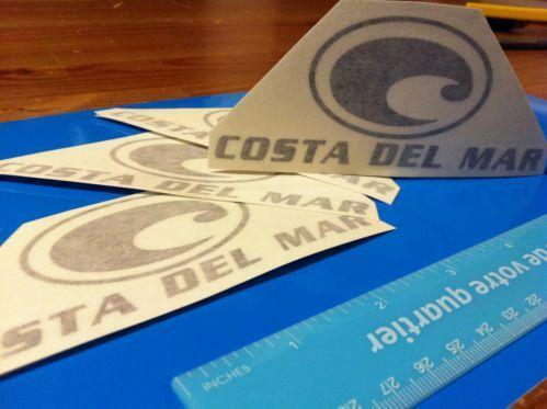 Costa Del Mar Sticker Ebay