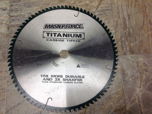 Carbide Tipped Saw Blade Ebay