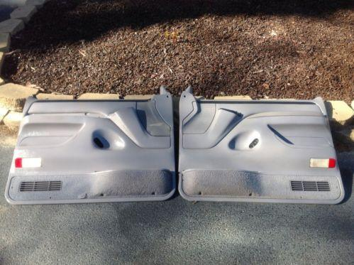 94 F150 Door Panels Ebay