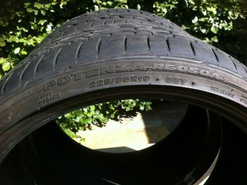 225 35 19 runflat tyres ebay. Black Bedroom Furniture Sets. Home Design Ideas
