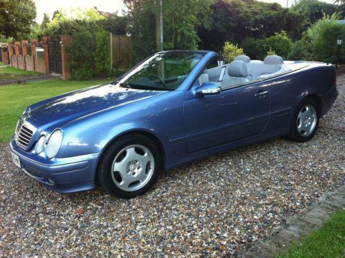 mercedes clk 230 kompressor convertible ebay. Black Bedroom Furniture Sets. Home Design Ideas