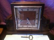 Art Deco Chiming Clock