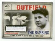 Babe Ruth Cut