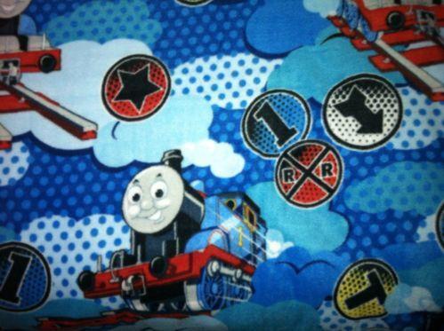 Thomas the train fleece ebay for Kids train fabric