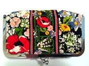 Vera Bradley Poppy Fields Cosmetic
