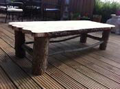 Shabby Chic Oak Coffee Table