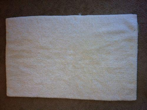 Pottery barn bath rug ebay for Pottery barn carpet runners