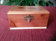 Wood Lock Box