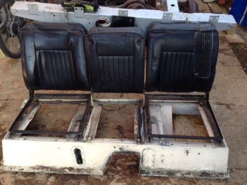 Land Rover Series 2 Seats Ebay