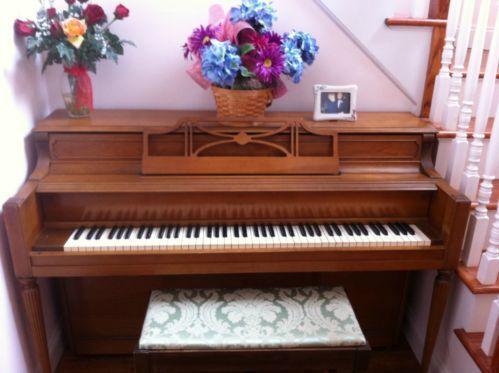 Story Clark Upright Piano Ebay