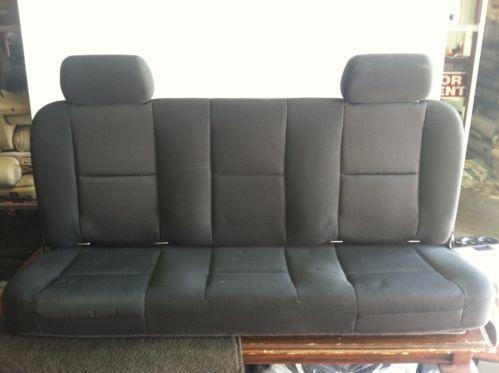 2008 silverado seats ebay. Black Bedroom Furniture Sets. Home Design Ideas