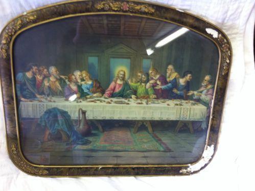 Last Supper Framed Christianity Ebay