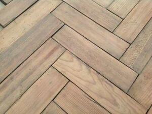 Parquet Flooring Wooden Block Flooring EBay - Is parquet flooring expensive
