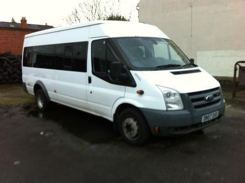 Used Ford Transit Connect >> Ford Transit 17 Seat Minibus | eBay