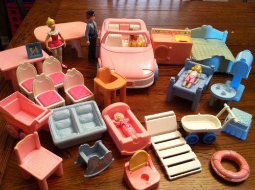 Playskool Dollhouse Furniture Ebay
