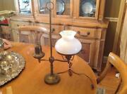 Victorian Glass Lamp Shade