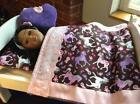 American Girl Doll Bed Handmade
