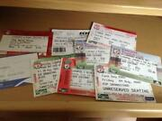Liverpool Ticket Stubs