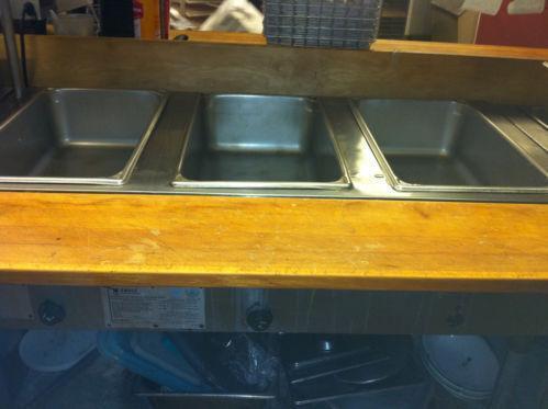 Used Gas Steam Table Ebay